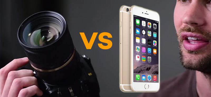 iPhone 6s  Nikon D750'den Daha İyi Video Çekiyor